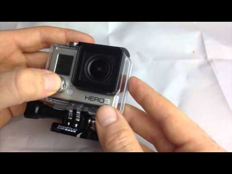 GoPro hero - How to Turn On / Turn off / Record/ take pictures/ basic buttons