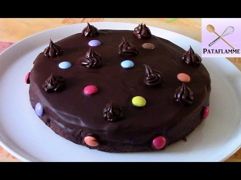 Le gâteau tout chocolat - Pataflamme - All chocolate cake