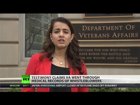 Veterans Affairs   targeted medical records to discredit whistleblowers