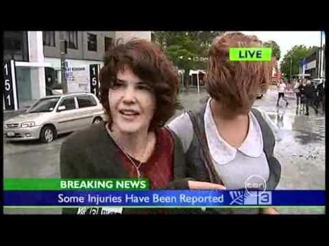 Ten News at Five Melbourne 22/2/11 - Christchurch Earthquake Coverage