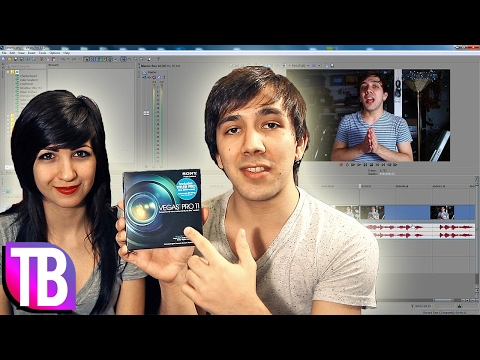 Sony Vegas Pro 11 - Beginner Tutorial Review and New Features