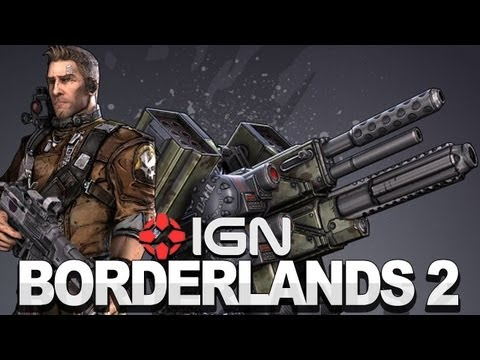 Borderlands 2 Gameplay: Commando Class Commentary