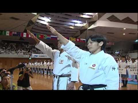 Okinawa Traditional Karatedo Kobudo World Tournament 2009. Part 1. 2/3