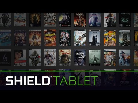 SHIELD Tablet: High Performance Gaming Everywhere
