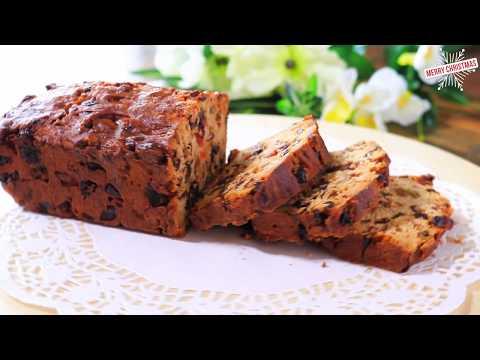 Fruit Cake | Last Minute Christmas Baking - Alcohol Free Recipe