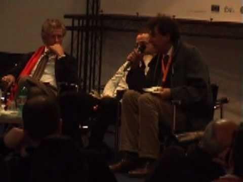 Derrick De Kerckhove e Stefano Cristante (3a di 5) - Public Camp - Bari, 3 dicembre 2010