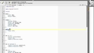 Tutorial HTML5 CSS3 parte 9: Sitio web de dos columnas