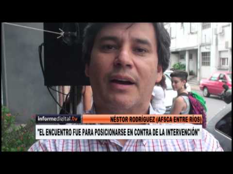 <b>Afsca.</b> En Entre R�os repudiaron intervenci�n del gobierno nacional