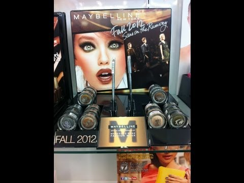 Maybelline Color Tattoo Fall 2012 Collection Limited Edition