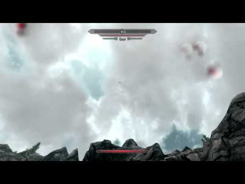 Hilarious Glitch in Skyrim