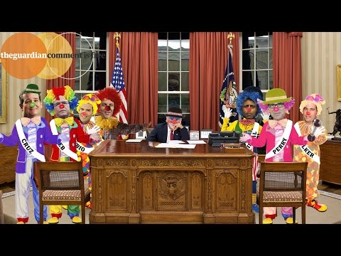 Republicans aren't clowning around, these are their real 2016 election candidates