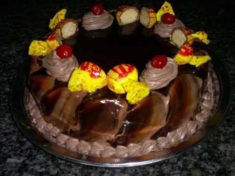 Bolos e Tortas decorado com chantilly