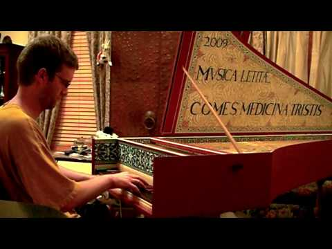 Bach - Invention No. 1 on the Harpsichord