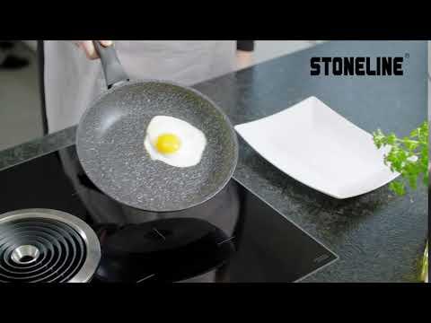 Сковорода Stoneline с крышкой Арома 28х28 см