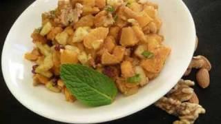 Sweet Potato Chaat ..
