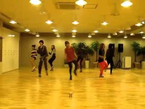 Lovey Dovey Dance - T-ara [slow + mirror]