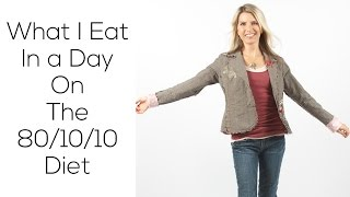 What I Eat in a Day on 80/10/10