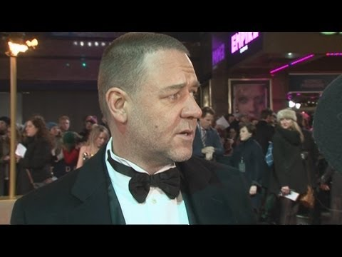 Russell Crowe interview at the Les Misérables premiere: He talks dreams, kids and challenges