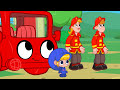 Фрагмент с средины видео - My Red Fire truck - My Magic Pet Morphle Episode #10
