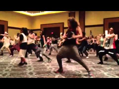 Chachi Gonzales workshop @ HHI ft Marlee Hightower (12 yrs old)
