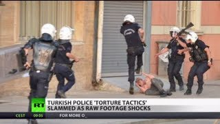Turkish police brutality shocks Enrages protesters Russia Today RT 04.06.2013