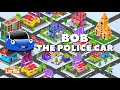 Фрагмент с средины видео - Crusher Machine vs Bob the Police Car Chase | Cartoon Songs & Rhymes for kids