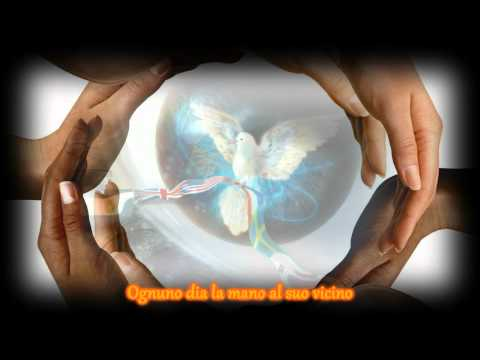 The Prayer - Andrea Bocelli & Celine Dion - HD Lyrics on Screen