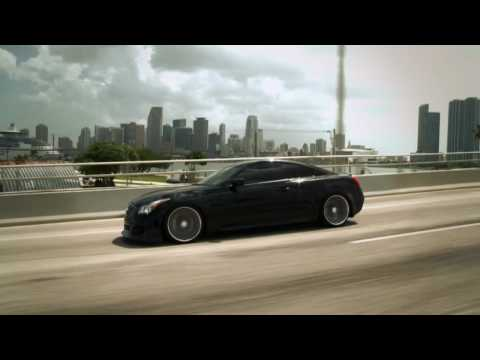 "Teaser - Infiniti G37s on 20"" Vossen VVS-CV1 Concave Wheels / Rims"