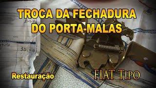 Fiat Tipo - Troca da fechadura do porta-malas - Pesterenan - YouTube