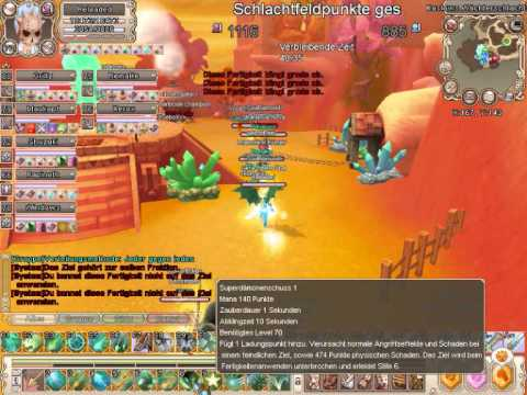 Grand Fantasia GVG TG vs BR teil1
