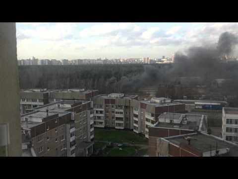 В Жулебино упал вертолет при посадке 29.10.2013