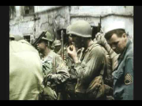 WWII INVASION OF SOUTHERN FRANCE 1 OF 3 RARE COLOR FILM