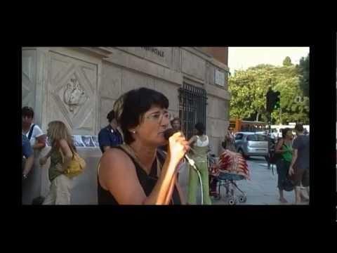 Genova 28 giugno 2011-presidio di solidarietà ai NOTAV Val di Susa