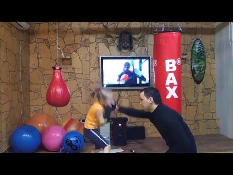 Buduća šampionka u boksu