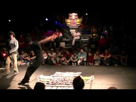 RED BULL BC ONE BATTLE 2011 - BBOY NIGGAZ (Pockemon Crew) vs LIL SHLAG (Chasseurs de Prime)