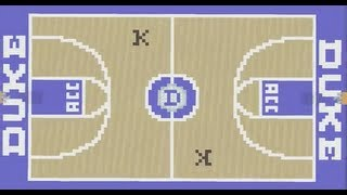 Minecraft Heat Basketball Court 40501 | TIMEHD