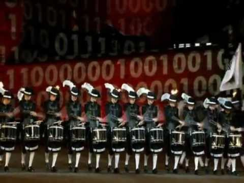 Top Secret Drum Corps - Royal Edinburgh Military Tattoo 2012 - official video