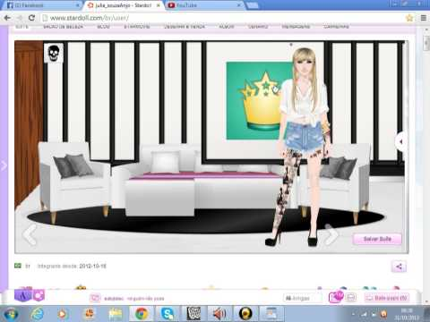 Como decorar sua suite no stardoll