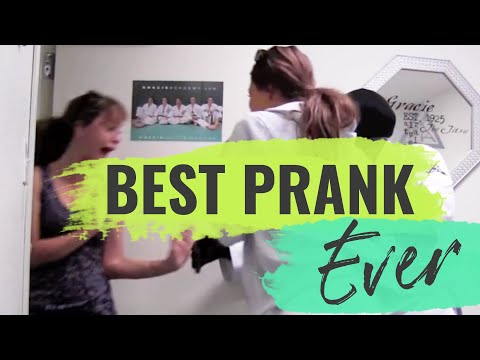 BEST PRANK EVER: Bubba Gracie