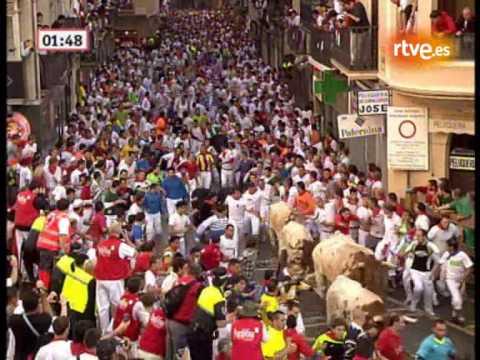 Cuarto encierro San Fermín 2010