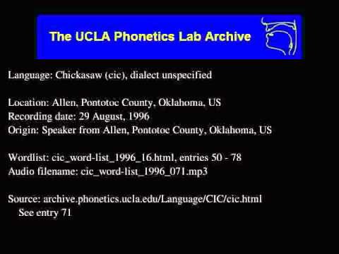 Chickasaw audio: cic_word-list_1996_071
