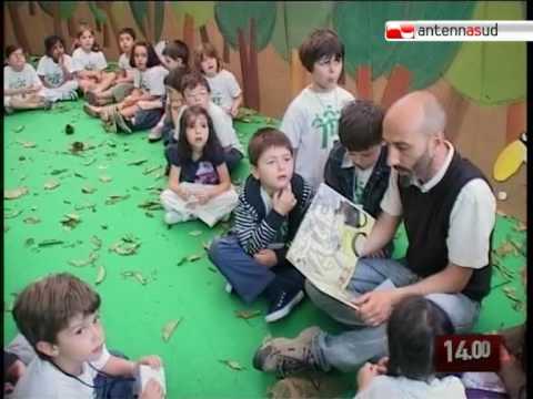 TG 08.06.10 Giornata Mondiale dell'Ambiente, i bambini di Bari all'Arpa Puglia