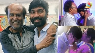 Superstar Rajinikanth Blesses Dhanush on Birthday Kollywood News 29-07-2016 online Superstar Rajinikanth Blesses Dhanush on Birthday Red Pix TV Kollywood News