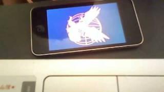 ブラッディ・マンディ>ipod touch2Gのアップルイメージを変えた(^。^) view on youtube.com tube online.