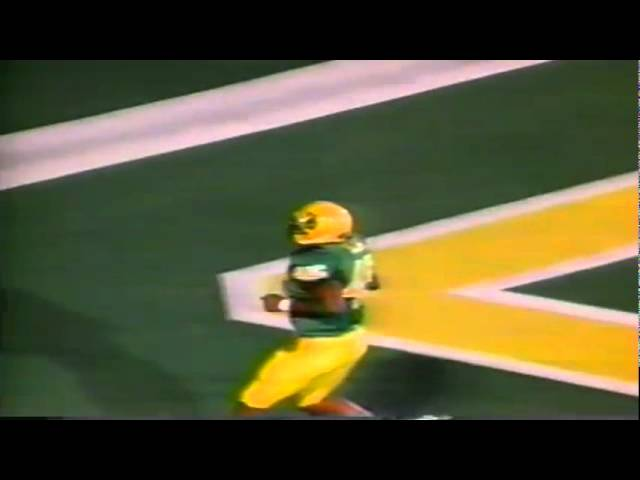 Oregon FB A.J. Jelks 9 yard touchdown catch vs. UCLA 10-11-1997