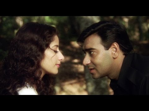 Ajay Devgn Flirting With Manisha Koirala - Kachche Dhaage