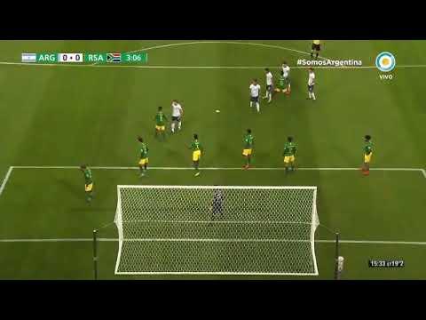 Argentina 5-2 Sudáfrica - Mundial Sub 20