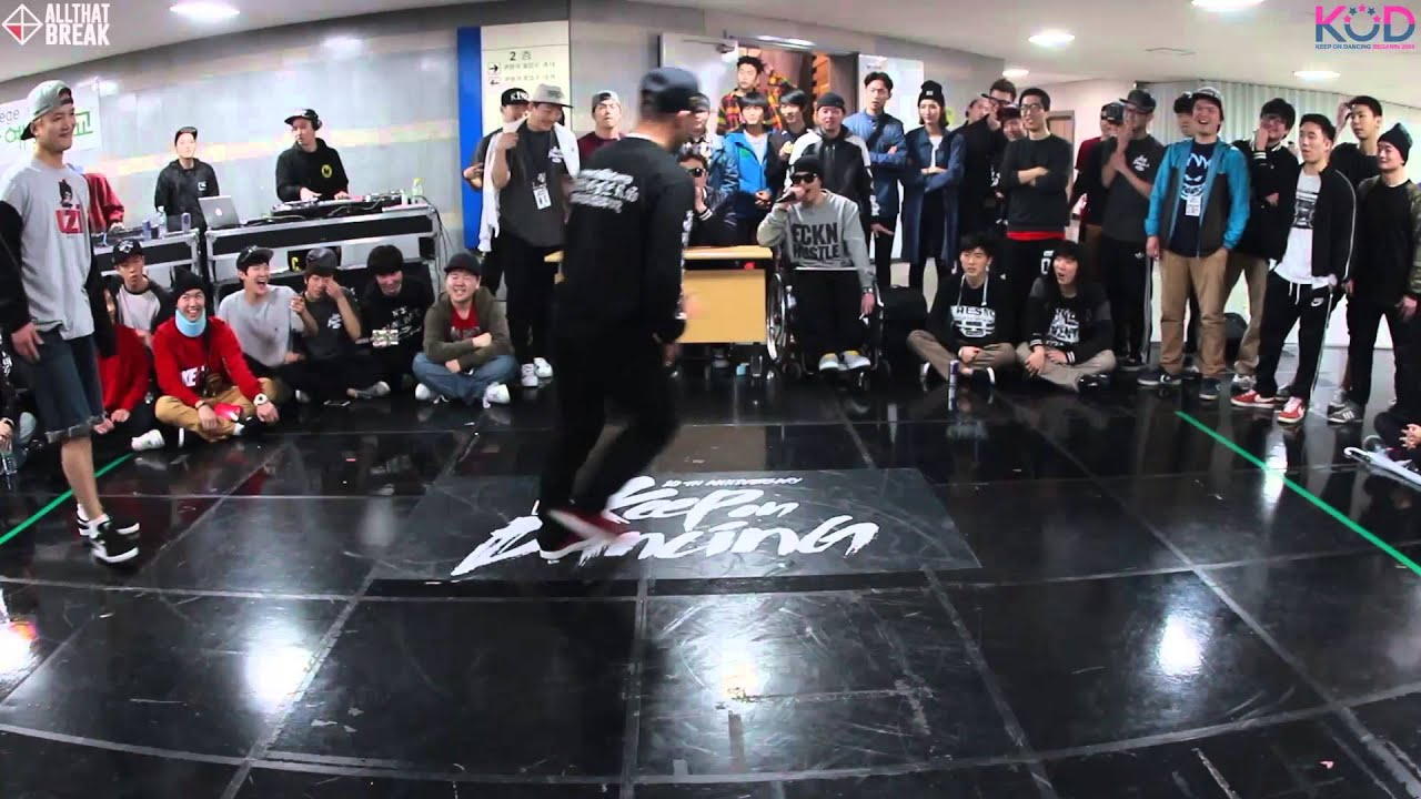 BRUCE LEE v BEAST / Bboy Top16 / KOD 2014 Korea 1 on 1 Chungju / Allthatbreak.com