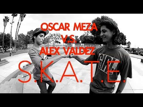 OSCAR MEZA V.S. ALEX VALDEZ - S.K.A.T.E. ON A HANDRAIL !!!!!!!