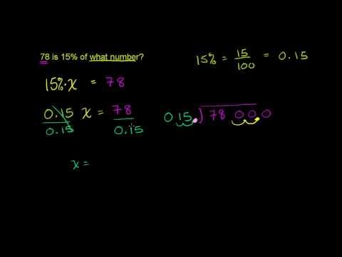 Risolvere Problemi Con Percentuali 3